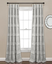 "Nova Ruffle 42"" x 84"" Curtain Set"