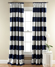 "Stripe 52"" x 84"" Blackout Curtain Set"