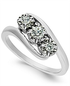 Diamond Three-Stone Ring (1/4 ct. t.w.)