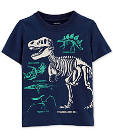 Carter's Toddler Boys Dino Skeleton Graphic Cotton T-Shirt