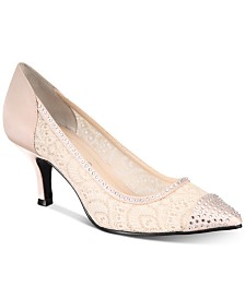 Caparros Quillian Lace Pumps