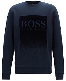 BOSS Men's Logo Graphic Cotton Sweatshirt