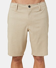 "Men's Heather Herringbone 20"" Hybrid Shorts"