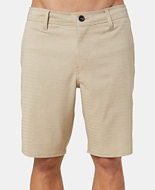 "O'Neill Men's Heather Herringbone 20"" Hybrid Shorts"