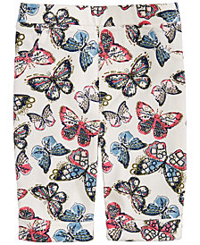 Epic Threads Toddler Girls Butterfly-Print Bermuda Shorts, Created for Macy's
