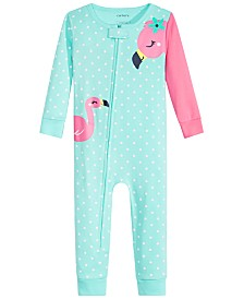 Carter's Baby Girls Cotton Flamingo Pajamas