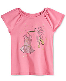 Epic Threads Little Girls Ballet T-Shirt, Created for Macy's