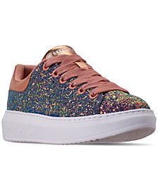 Skechers Women's High Street - Glitter Rockers Casual Sneakers from Finish Line
