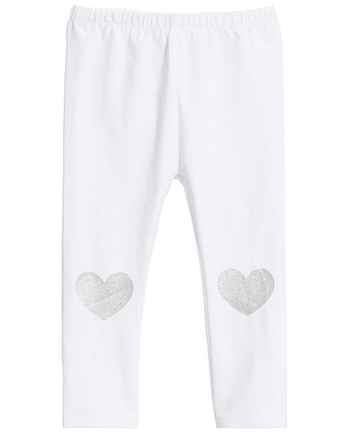 First Impressions Baby Girls Heart Leggings, Created for Macy's