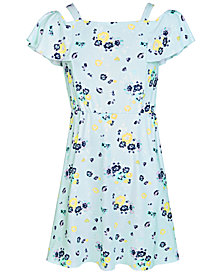 Epic Threads Super Soft Big Girls Floral-Print Fit & Flare Dress, Created for Macy's