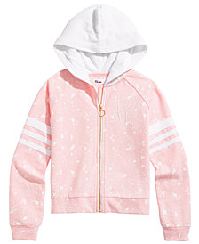 Epic Threads Big Girls Embroidered Printed Hoodie, Created for Macy's
