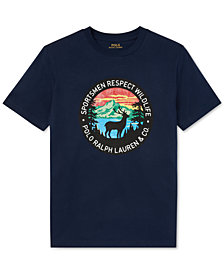 Polo Ralph Lauren Big Boys Graphic Cotton T-Shirt