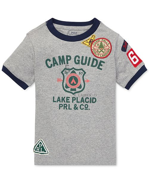Polo Toddler Ralph Lauren Boys Graphic T Cotton Shirtamp; Reviews dCxorBeQW