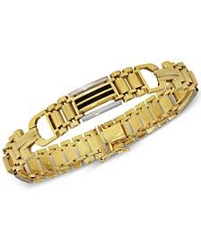 Men's Onyx (15mm x 2mm) Bracelet in 14k Gold