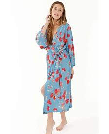 Plum Pretty Sugar Kimono Ankle Length Robe