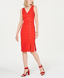 Vince Camuto Embellished Bodycon Dress