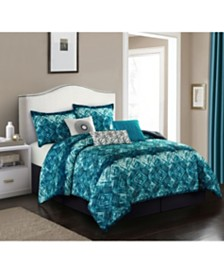 Batique 7-Piece Queen Comforter Set