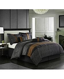 Corell Bronze 7-Piece California King Comforter Set
