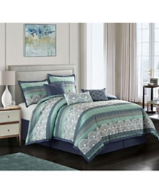 Mynda 7-Piece Queen Comforter Set