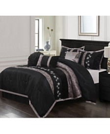 Riley 7-Piece California King Comforter Set