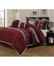 Riley 7-Piece King Comforter Set