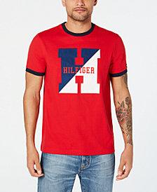 Tommy Hilfiger Men's Row Club Logo T-Shirt