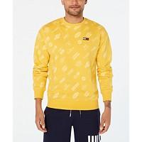 Tommy Hilfiger Mens Multi-Logo Sweatshirt