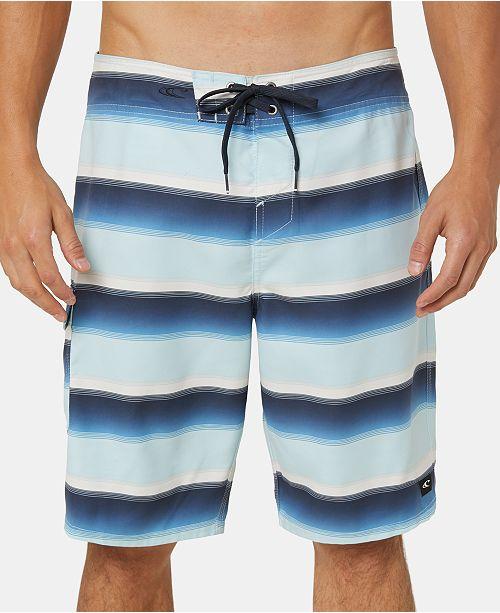 "O'Neill Men's Santa Cruz Stripe 21"" Board Shorts"
