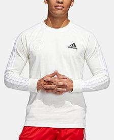 adidas Men's Marquee Logo Long-Sleeve T-Shirt