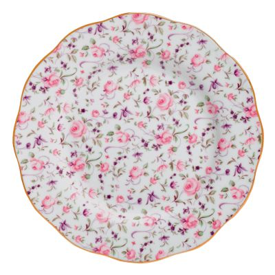 Rose Confetti Salad Plate