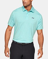 6f921893 Under Armour Men's Striped Playoff Polo