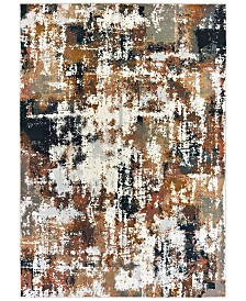 "Oriental Weavers Bowen 4928X Gray/Gold 9'10"" x 12'10"" Area Rug"