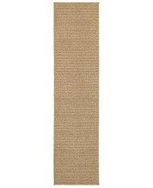 """Oriental Weavers Santa Rosa 501D6 Sand/Tan 1'10"""" x 7'6"""" Indoor/Outdoor Runner Area Rug"""