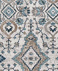 "Varanasi VAR-2301 Teal 18"" Square Swatch"