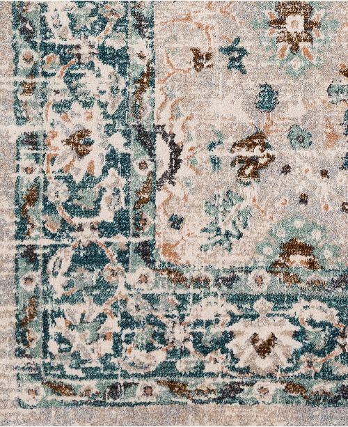 """Surya Soft Touch SFT-2304 Teal 18"""" Square Swatch"""