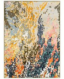 Silk Road SKR-2313 Bright Orange 2' x 3' Area Rug