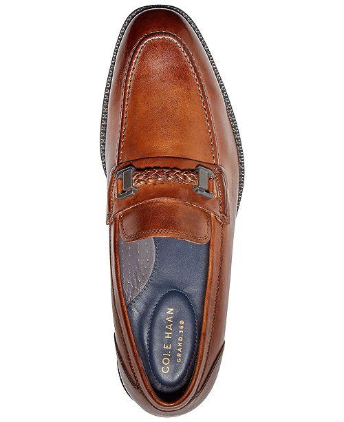 5c722fec410 Cole Haan Men s Warner Grand Bit Loafers   Reviews - All Men s Shoes ...