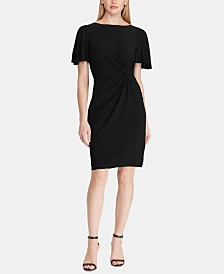 Lauren Ralph Lauren Twisted-Knot Dress