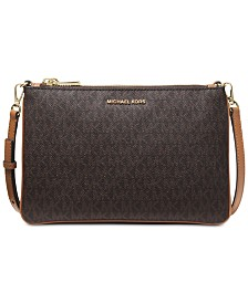 MICHAEL Michael Kors Signature Double Pouch Crossbody