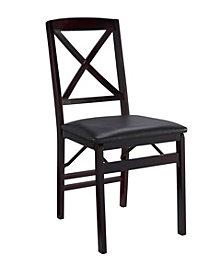 Triena X-Back Folding Chair