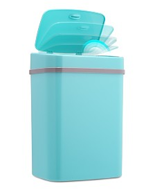 Nine Stars 3.2 Gallon Plastic Sensor Trash Can