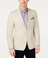 7a9f525443c7 Lauren Ralph Lauren Men s Classic-Fit Ultra-Flex Solid Linen Sport Coat