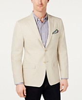 a90a29037 Lauren Ralph Lauren Men's Classic-Fit Ultra-Flex Solid Linen Sport Coat