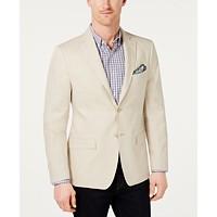 Deals on Lauren Ralph Lauren Classic Fit Ultra-Flex Solid Linen Sport Coat