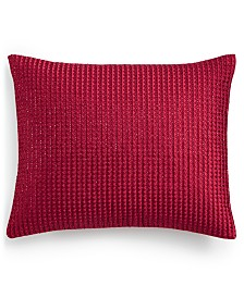 "Hotel Collection Luxe Border 16"" x 20"" Decorative Pillow, Created for Macy's"