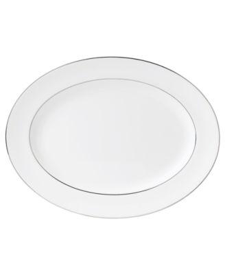 Signet Platinum Large Oval Platter