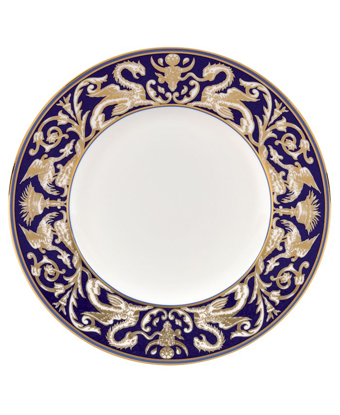"""Wedgwood - Accent Salad Plate, 9.0"""" (Scroll)"""