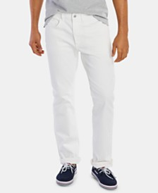 Nautica Men's Athletic Frost White Jeans