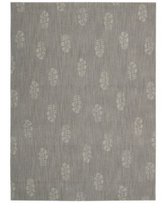 "Home Area Rug, CK11 Loom Select Neutrals LS13 Pondicherry Granite 2'3"" x 7'5"" Runner Rug"