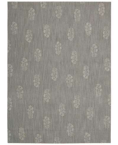 Calvin Klein Home Area Rug, CK11 Loom Select Neutrals LS13 Pondicherry Granite 5'6